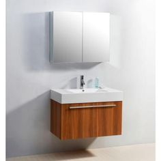 Virtu USA Midori 35-3/16 in. Single Basin Bathroom Vanity in Plum with Poly-Marble Vanity Top in White-JS-50136-PL-PRTSET1 at The Home Depot