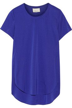 3.1 Phillip Lim Stretch-silk twill top | NET-A-PORTER