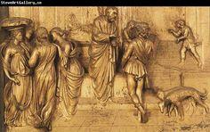 Lorenzo Ghiberti Isaac Sends Esau to Hunt