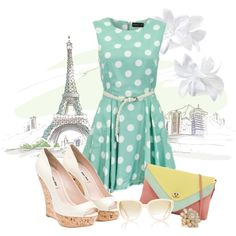 Bonjour!, created by lovely-quinn on Polyvore