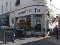 Veggie Places - Woodruffs Organic cafe - Stroud