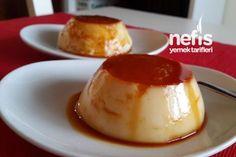Yalancı Krem Karamel Tarifi Iftar, Creme Brulee, Food And Drink, Pudding, Yummy Food, Diet, Cake, Desserts, Bikini
