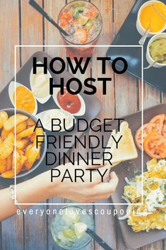 How to Host a Budget Friendly Dinner Party A dinner party is as much about quality time with friends as it is about the food. Party Food On A Budget, Dinner On A Budget, Dinner Ideas, Dinner Party Decorations, Dinner Party Recipes, Dinner Parties, Christmas Party Food, Christmas On A Budget, Healthy Groceries