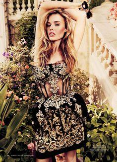 Georgia May Jagger Harper's Bazaar Australia - Dolce & Gabbana