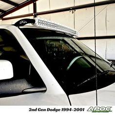 "1994-2001 Dodge Ram 1500/2500 Apoc Roof Mount for 52"" Curved Led Light Bar"