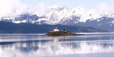 "With its majestic setting and quirky octagonal shape, this Alaska lighthouse tops our list of ""must-see"" places."