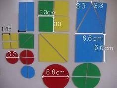 DIY: magnet puzzle | 手作りマグネット図形パズル