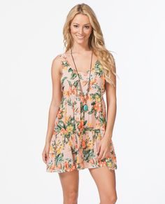 RIP CURL PARADISE FOUND COVER-UP DRESS at www.hobiesurfshop.com #beachstyle #beachlife #hobie