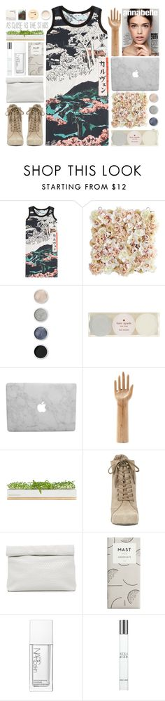 """Untitled #62"" by junotsalis ❤ liked on Polyvore featuring Carven, Pier 1 Imports, Terre Mère, Kate Spade, HAY, Bambeco, Nine West, Marie Turnor, NARS Cosmetics and Giorgio Armani"