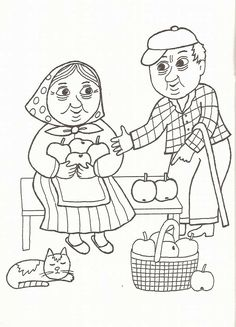 Book Activities, Preschool Activities, Food Coloring, Adult Coloring, Happy Together, Grandparents Day, Free Coloring Pages, Painting Patterns, Drawing For Kids