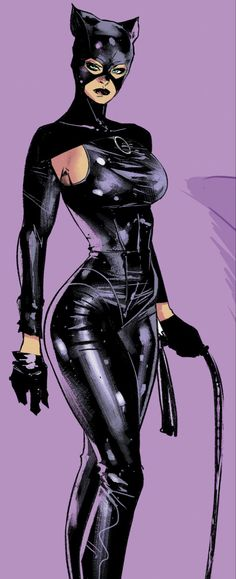 Batgirl, Catwoman Comic, Batman And Catwoman, Black Catwoman, Arte Dc Comics, Dc Comics Superheroes, Comic Art Girls, Comics Girls, Dibujos Pin Up