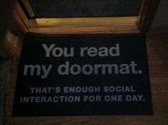 That's enough #Social #Interaction