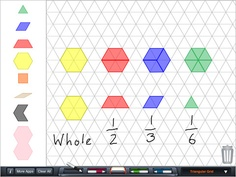 everyday math pattern block template - 1000 images about paid math apps on pinterest everyday