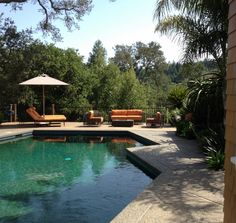 Gorgeous pool and garden in Kentfield - Marin County, CA