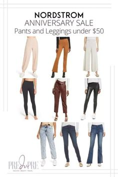 Great finds at the Nordstrom Anniversary Sale. I've rounded up my top picks in pants & leggings under $50. Hot Summer Outfits, Fall Outfits, Skinny Jeans With Boots, Fall Pants, Denim Joggers, Warm Weather Outfits, Nordstrom Anniversary Sale, Weekend Wear, Winter Fashion