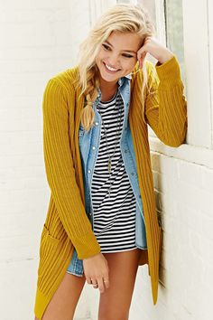 Model Rachel Hilbert in Urban Outfitters