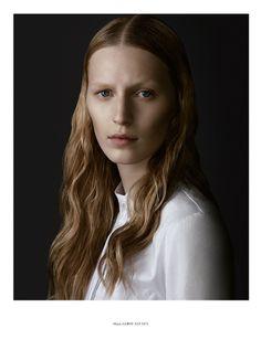 Julia Nobis 2014 - White shirt