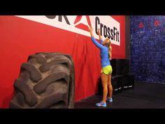"▶ Reebok CrossFit ONE Movement Demo ""Wall Ball"" - YouTube"