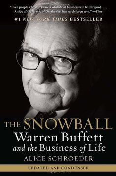 I read this biography of Warren Buffet last month and was TOTALLY engrossed by it.