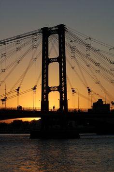 Bridge over the Parana, Argentinië Foto's   Columbus Travel