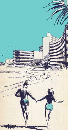 Beach Couple - 1962