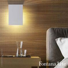 FontanaArte Corrubedo Wall Lamp, Halogen has no-frills geometric lines. #FontanaArte #walllamp #halogen #DavidChipperfield  Available at allmodernoutlet.com  http://www.allmodernoutlet.com/fontanaarte-corrubedo-wall-lamp/