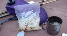Freezer bag meals