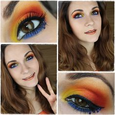 Sailor Venus inspired makeup by http://www.talasia.de/2015/10/05/sailor-venus-inspired-make-up/
