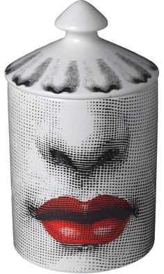 Fornasetti Candle with Lips