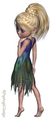 *Angie's Free Poser Tubes*: Tubes Trixie Peacock