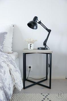 Heinässä heiluvassa: DIY - Betoninen yöpöytä