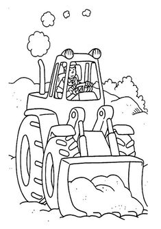25 adventurous tractor coloring pages for your little ones - Tractor Coloring Pages