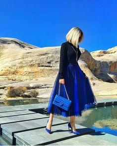 1ef3cac3644d 16 fantastiche immagini su vestito blu