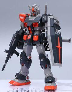 MG 1/100 RX-78-1 Gundam OYW - Customized Build