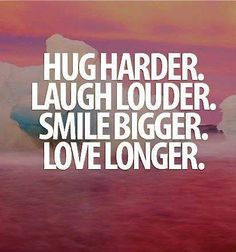 Laugh louder. We can't hear you... #quote #inspiration