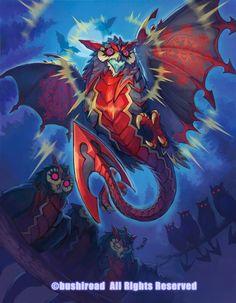 Fantasy Monster, Monster Art, Anime Fantasy, Dark Fantasy Art, Creature Concept Art, Creature Design, Fantasy Creatures, Mythical Creatures, Fantasy Character Design