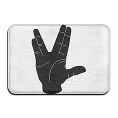 Live Long And Prosper LogoDoormat Entrance Mat Floor Mat Rug Indoor/Outdoor/Front Door/Bathroom Mats Rubber Non Slip *** You can find out more details at the link of the image. (This is an affiliate link)