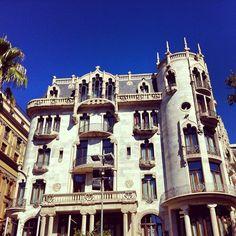 MT @earthXplorer: Loving the architecture in #barcelona #spain #travel
