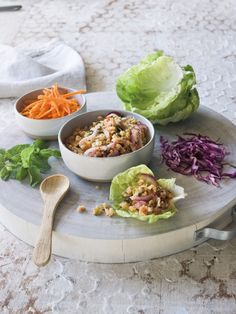 Thai-Spiced Shrimp Salad Rolls
