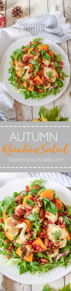A satisfying and hearty celebration of autumn in salad form.