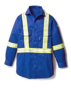 082a6608224b Rasco FR Uniform Shirt with Reflective Trim - 5 Colors