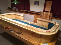 Page My craps table build Poker, Gaming, and Other Tables Woodworking Projects, Diy Projects, Heat Gun, Router Table, Under The Table, Diy Bar, Router Bits, Garage Ideas, Perfect Man