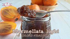 Marmellata light di cachi vaniglia (330 calorie)