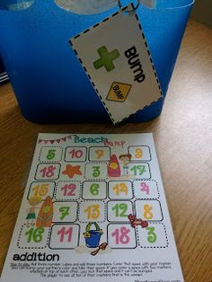 Second Grade Style: math games
