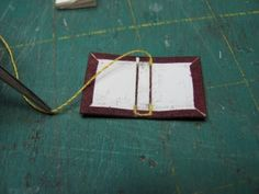 Dollhouse Miniature Furniture - Tutorials   1 inch minis: how to make miniature books