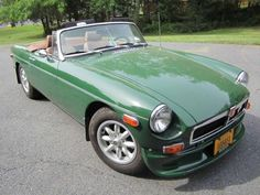 1978 MGB...My dad had one but it was red.