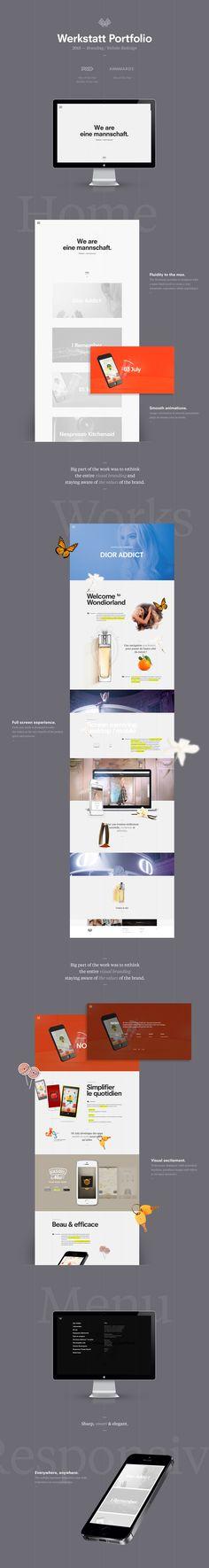 Werkstatt · Portfolio & Branding by Valentin Delouis