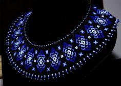 Related Image Related Image … – The World Beaded Collar, Beaded Choker, Beaded Jewelry, Handmade Beads, Handmade Necklaces, Handmade Jewelry, Seed Bead Patterns, Beading Patterns, Jewelry Tree