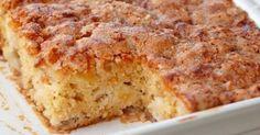 Sugar Apple Cake Cinnamon Sugar Apple Cake- i made this yesterday. it is seriously good.Cinnamon Sugar Apple Cake- i made this yesterday. it is seriously good. Yummy Recipes, Apple Cake Recipes, Baking Recipes, Sweet Recipes, Dessert Recipes, Apple Cakes, Healthy Apple Cake, Easy Apple Cake, Fresh Apple Cake