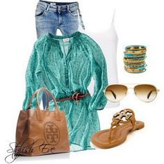 Love the top... it would match the Michael Kors purse and watch Steve just got me for Valentines Day!